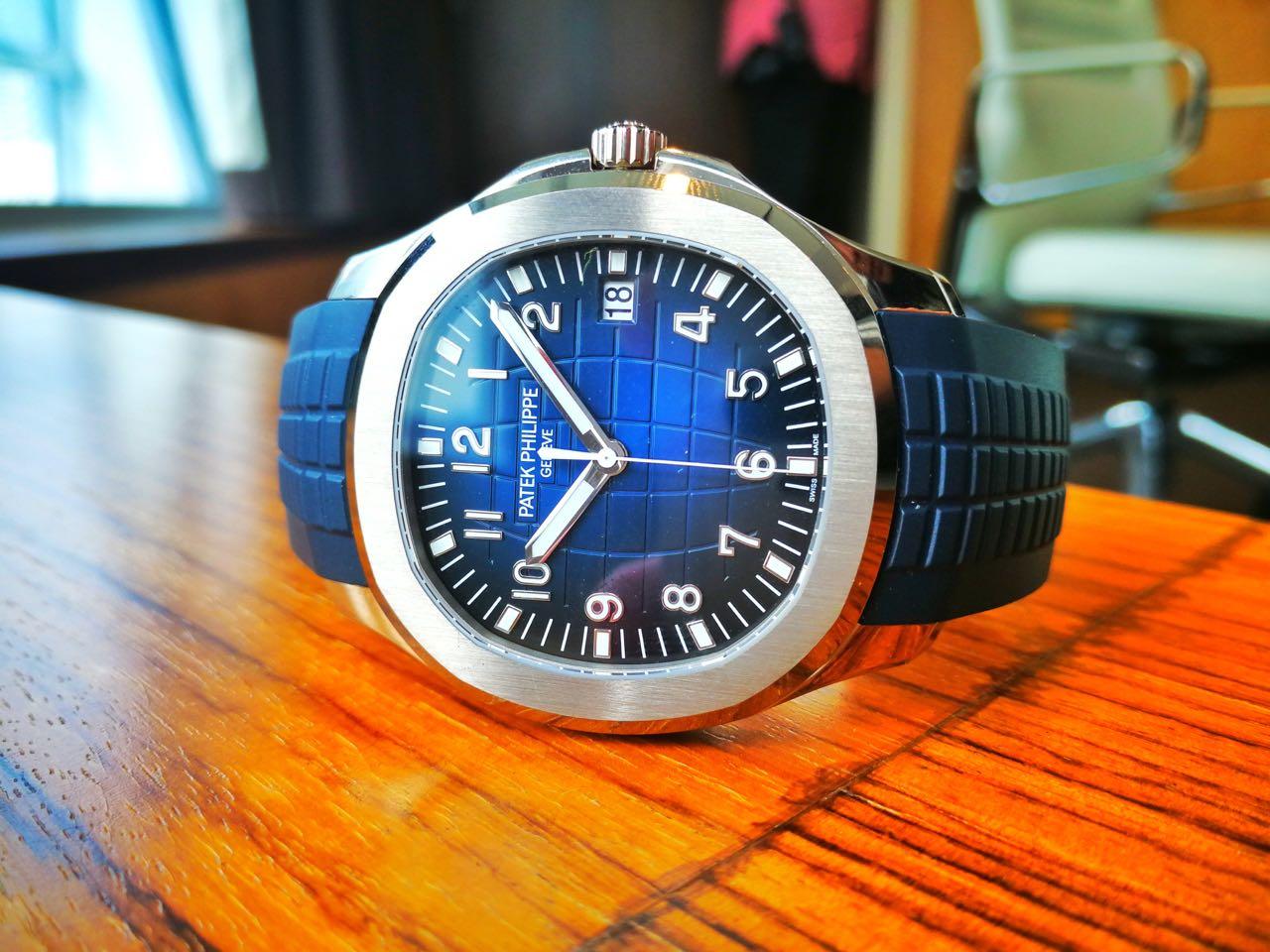 Patek Philippe Celebrates The 20th Anniversary Of The Aquanaut
