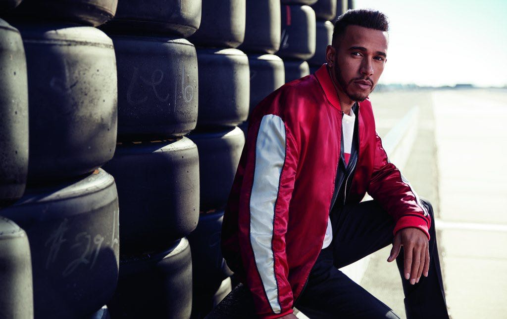 Lewis Hamilton is the new face of Tommy Hilfiger
