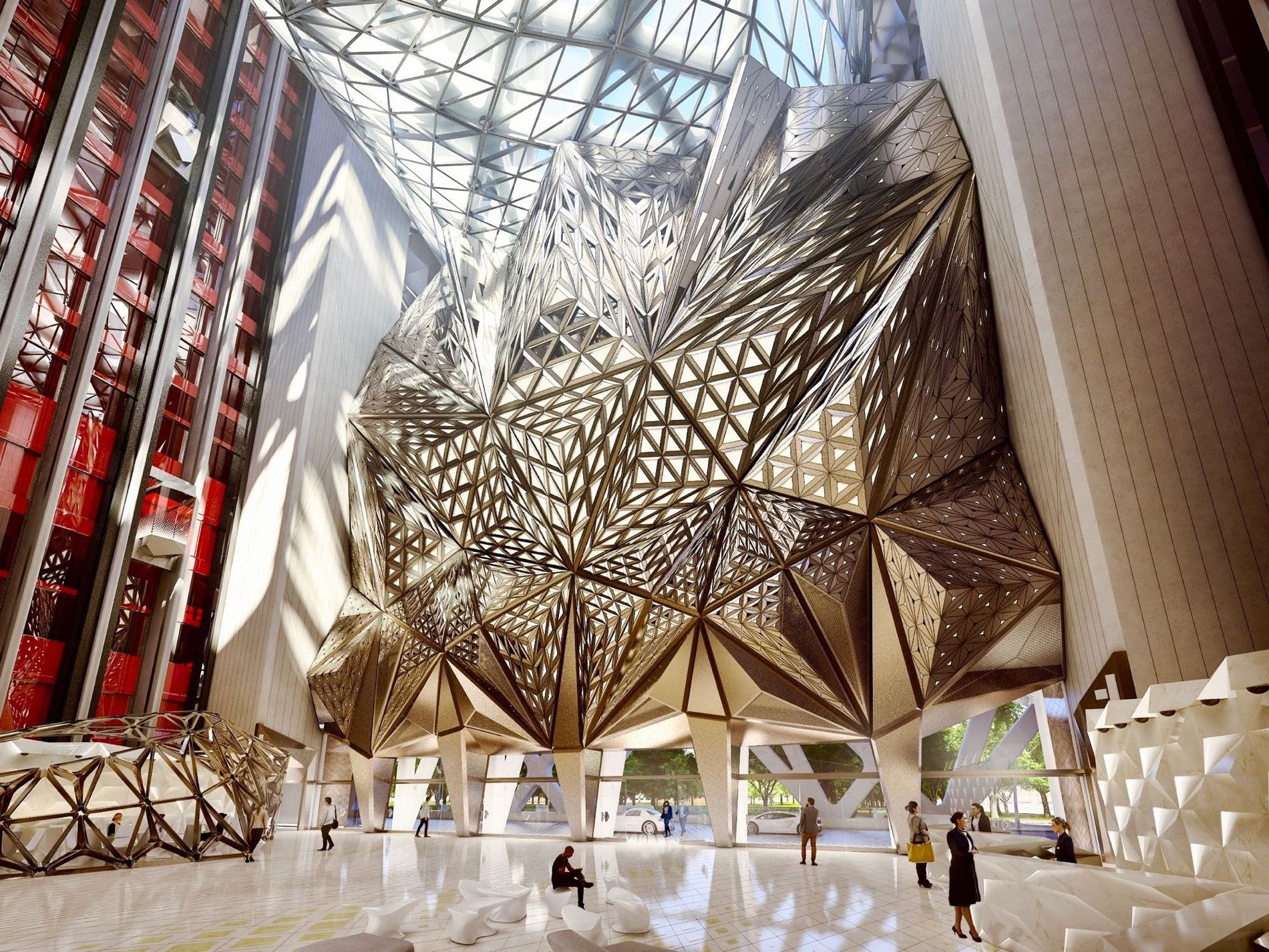 Morpheus Hotel In Macau Is The World S 1st Free Form