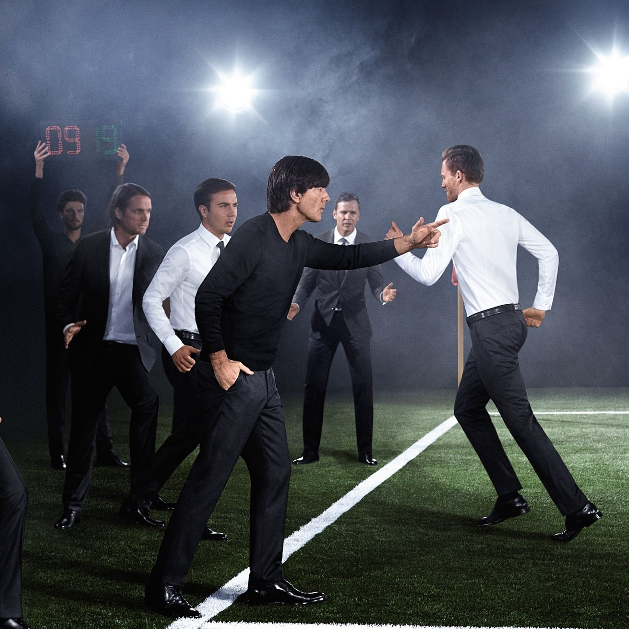 HUGO BOSS Outfits the German National Football Team for ...