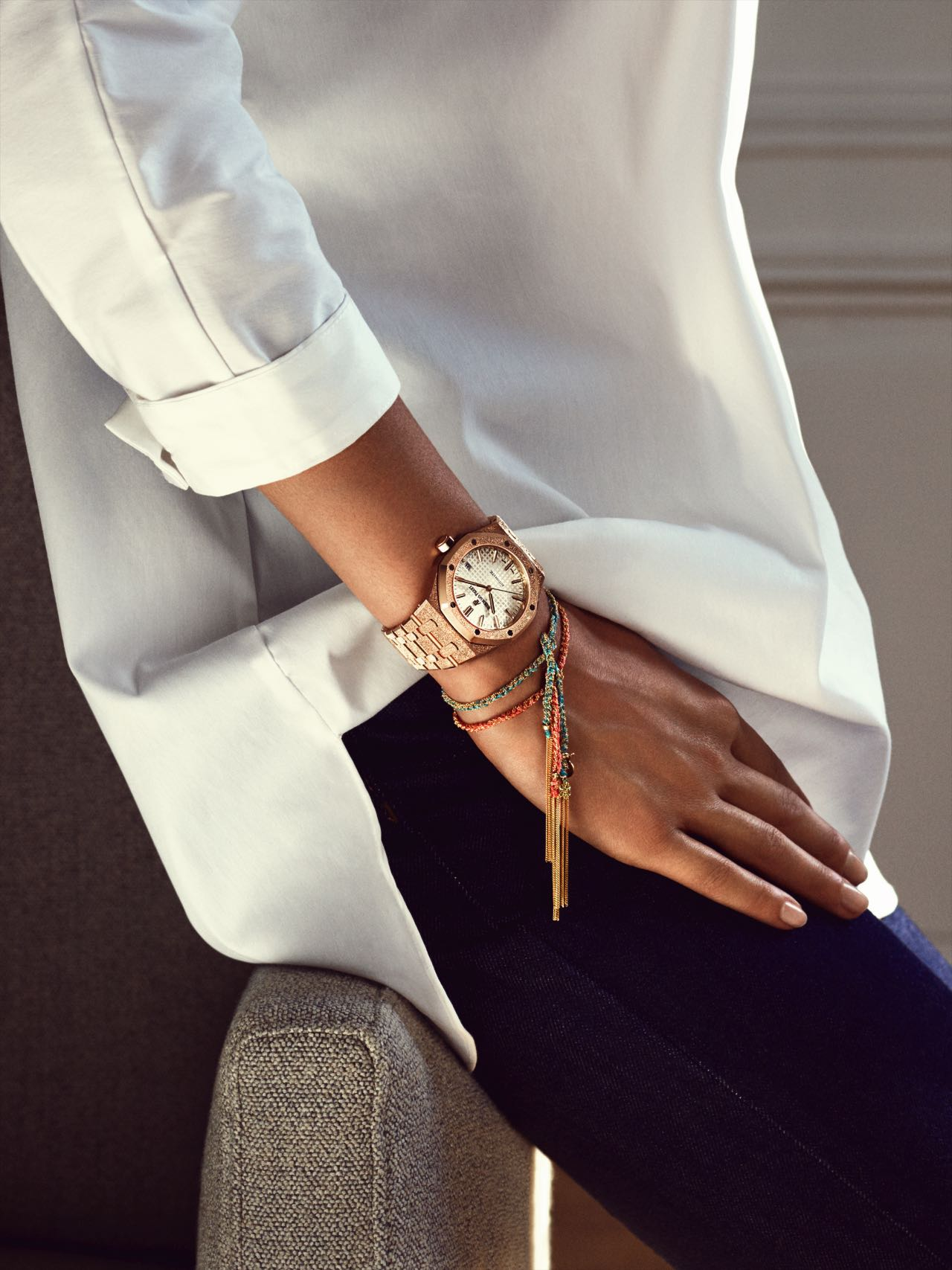 6b90bd20d The merger of Jacqueline Dimier's timeless design with Carolina Bucci's  contemporary approach in the Audemars Piguet Royal Oak for women marks a  dazzling ...