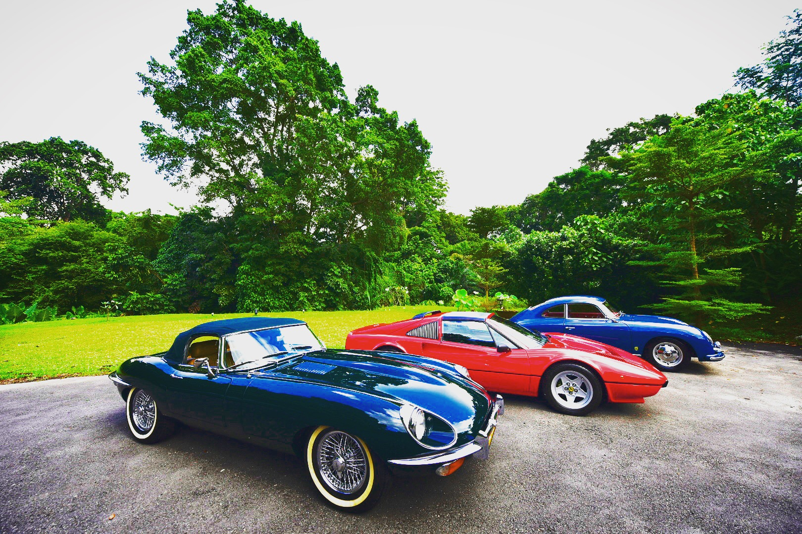 Luxglove Classic Car Weekend First Event Of Its Kind In Singapore