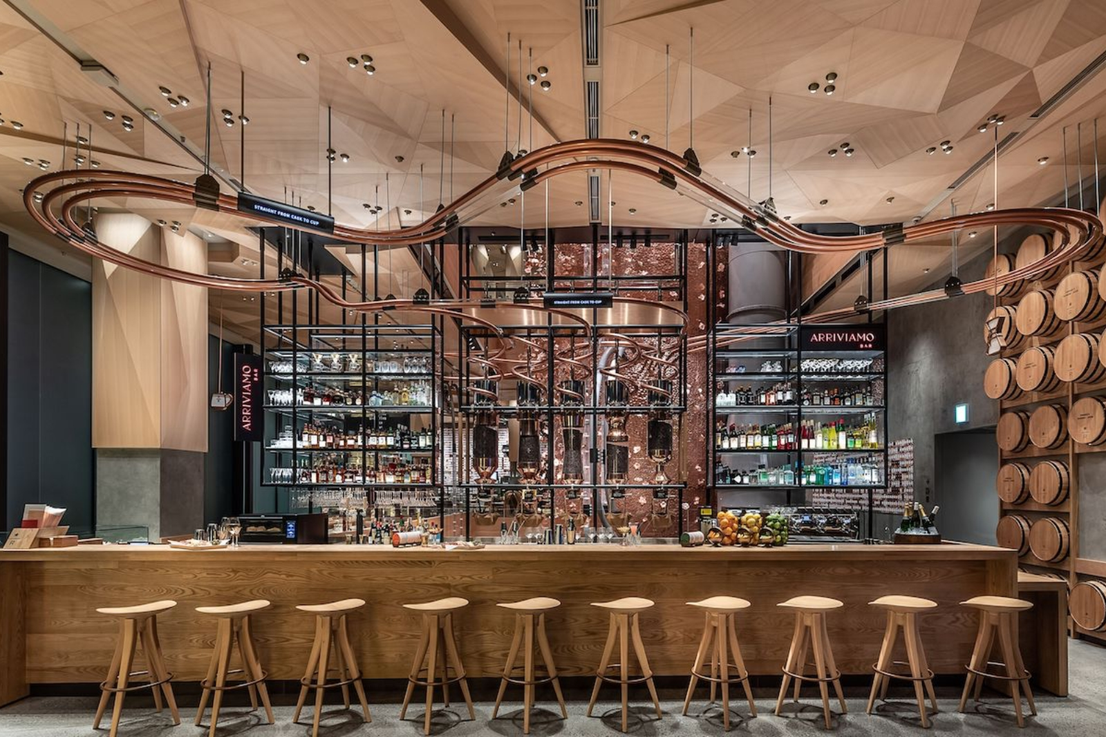 The World S Largest Starbucks Reserve Roastery Opens In