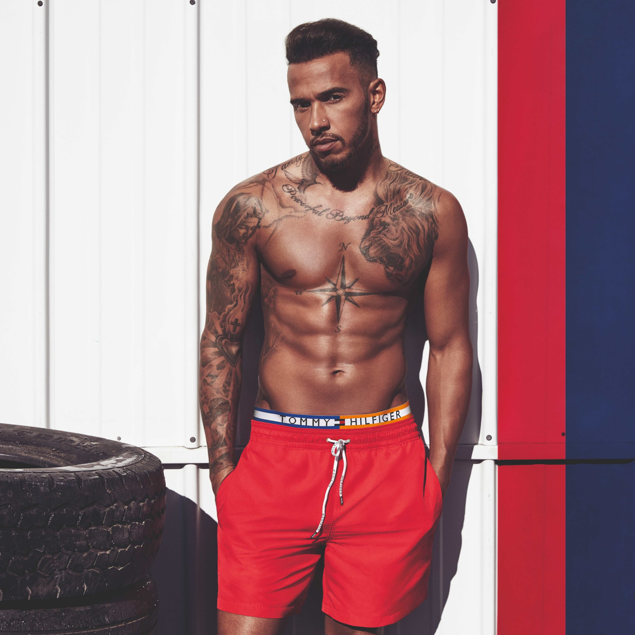 lewis hamilton is newest tommy hilfiger ambassador senatus. Black Bedroom Furniture Sets. Home Design Ideas