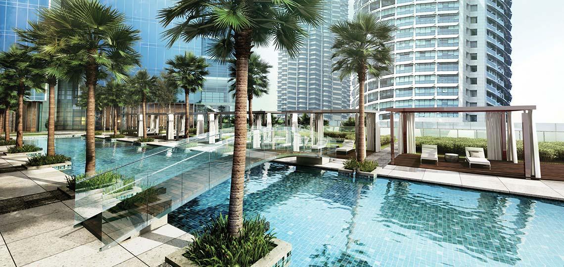 Four seasons hotel kuala lumpur now open senatus - Piccolo hotel kuala lumpur swimming pool ...