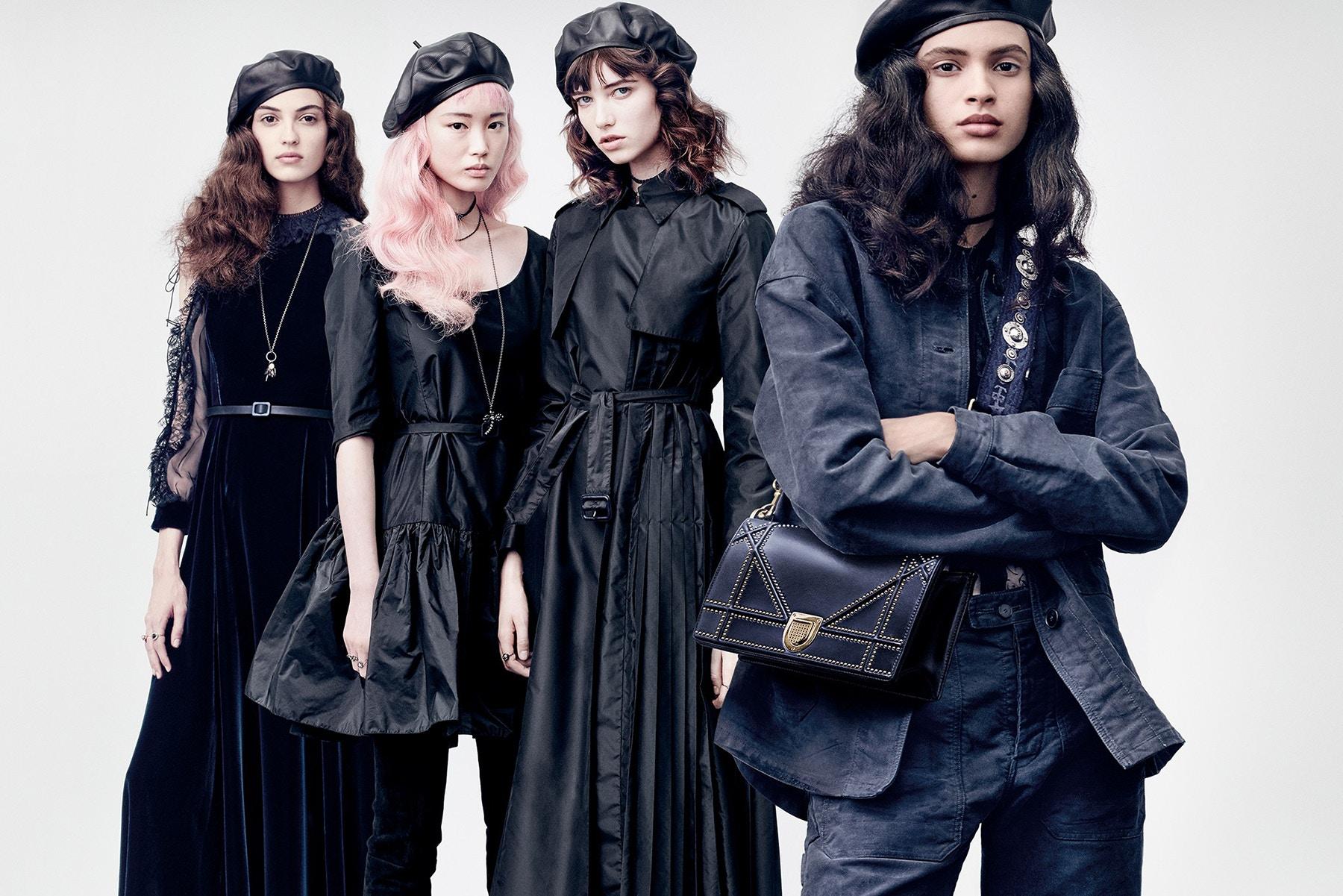 013278c302 Dior Fall Winter 2017 18 Campaign Continues Spotlight on Feminism ...