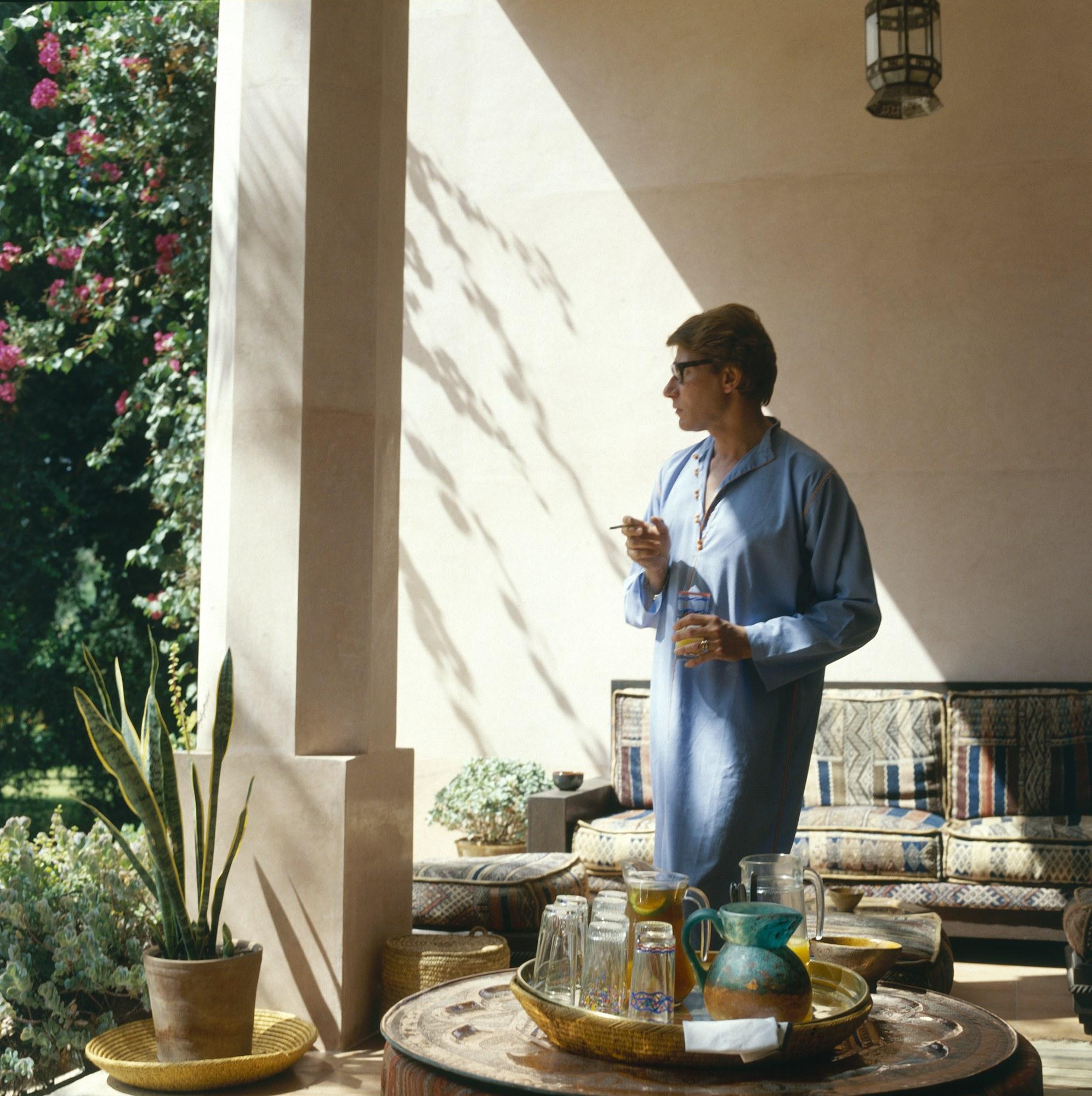 mus e yves saint laurent marrakech set for opening in. Black Bedroom Furniture Sets. Home Design Ideas