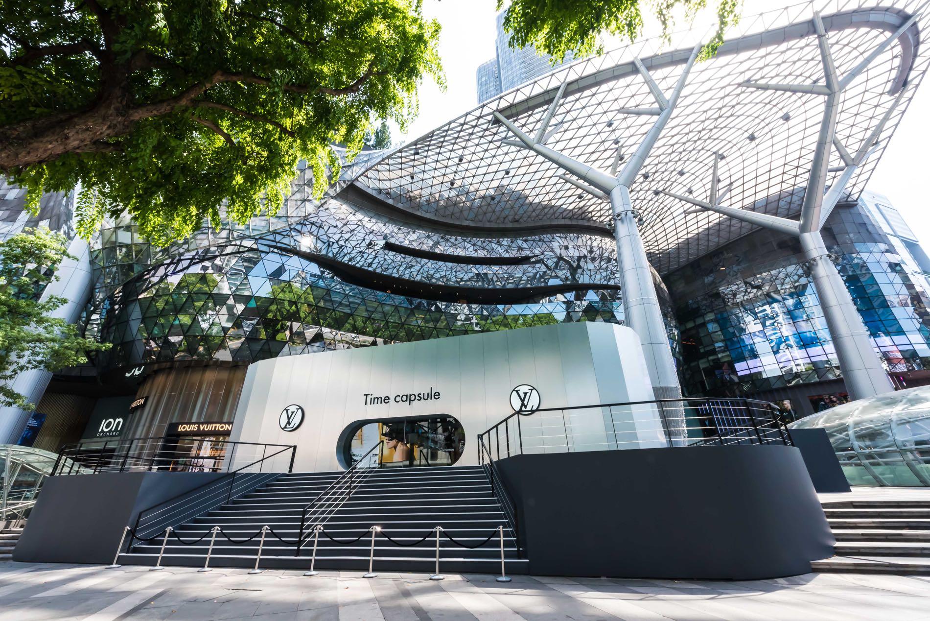 e08a23bd0bd Louis Vuitton Time Capsule Exhibition in Singapore #LVTimecapsule ...