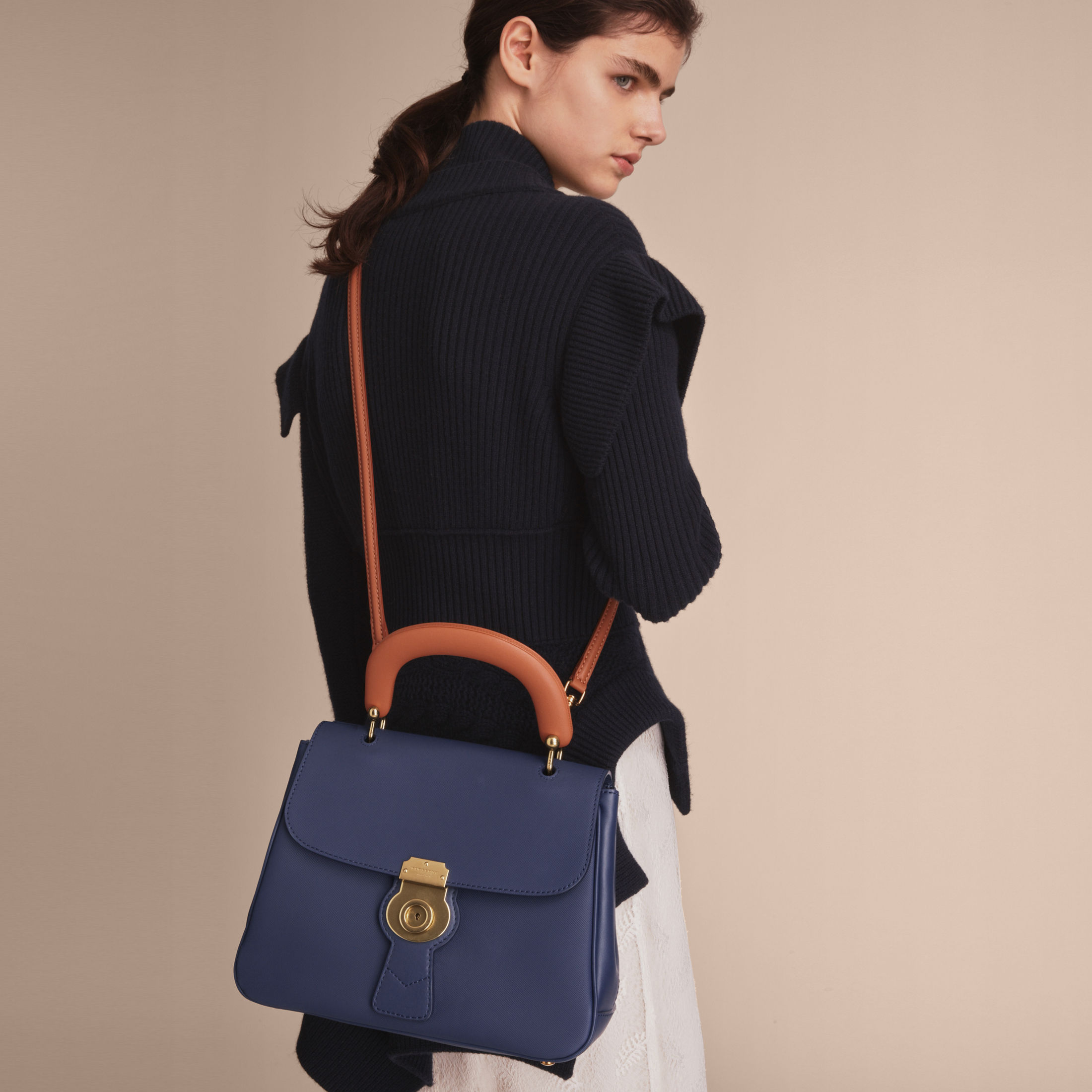 Tory Burch - Diamond Stitched Leather Tote