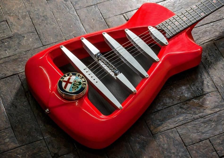 alfa romeo electric guitar by harrison custom guitar works | senatus  guitar  pots wiring diagram