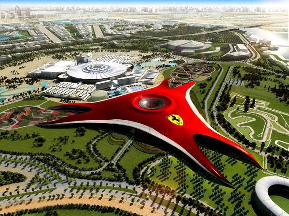 Ferrari World Abu Dhabi Theme Park Opens   SENATUS