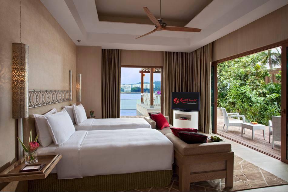 Equarius Hotel And Beach Villas Open At Resorts World Sentosa