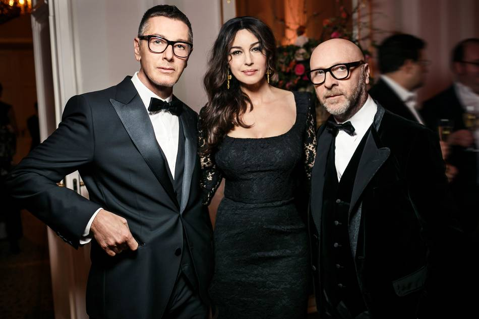 The Italian sex symbol's relationship with the fashion designers goes back over 20 years, having met them when they were just up-and-coming stylists and she was a model starting out in Milan
