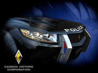 The Carbon 'E7' Cop Car by Carbon Motors Corporation