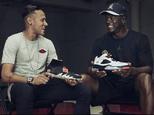 Neymar Jr. becomes the first football athlete to feature the Jumpman on his performance product