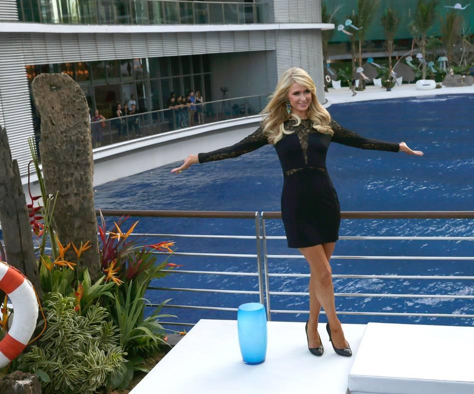 Paris Hilton Inaugurates The Paris Beach Club In Manila
