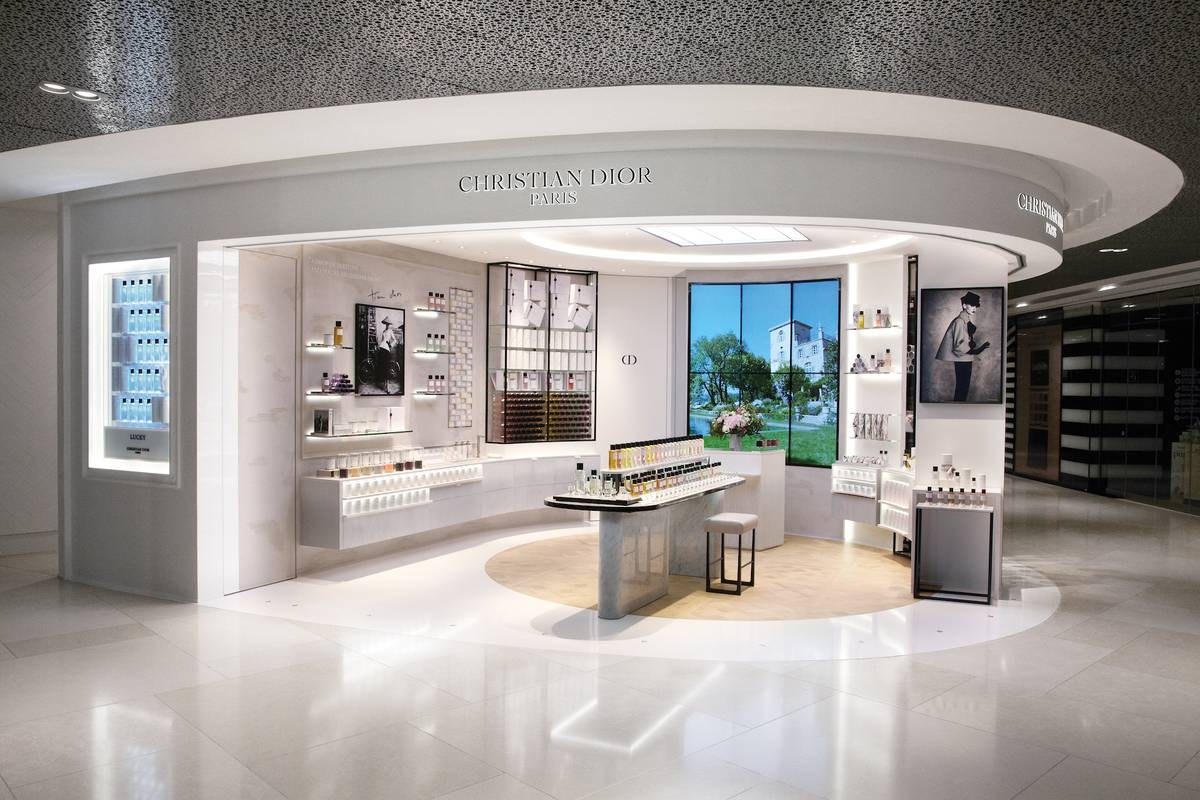 maison christian dior opens at ion orchard senatus. Black Bedroom Furniture Sets. Home Design Ideas