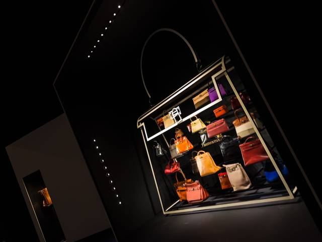The exhibition at the ArtScience Museum is a poetic journey exploring Hermès' love of leather, presenting items from its past as well as some of its latest creations