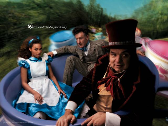 Beyonce KNOWLES in Alice in Wonderland