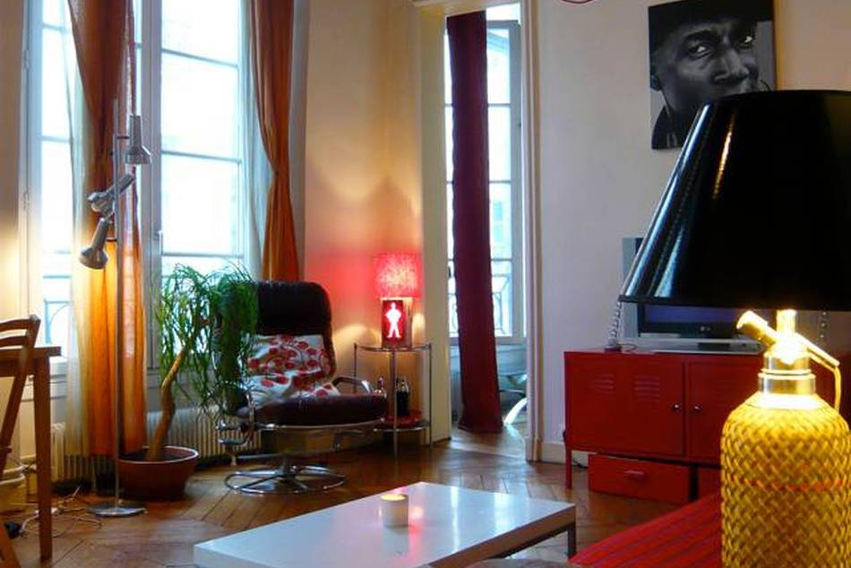Why spend when you can swap? A view of a Paris home available on LuxeHomeSwap