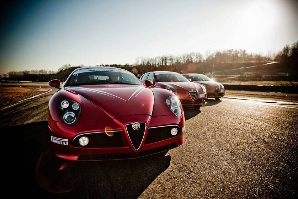 The Guida Sicura has also had a historical partnership with Italian marque Alfa Romeo