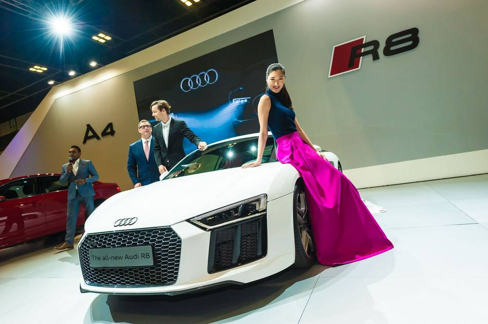 new car launches singaporeAudi Showcases Record Breaking Fleet at 2016 Singapore Motorshow