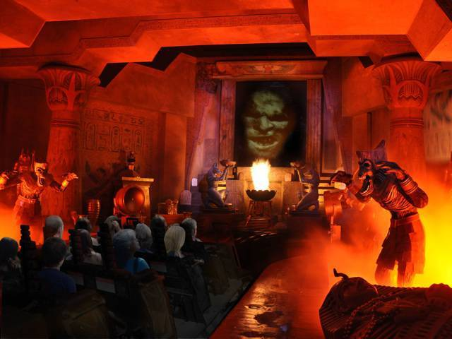 "Feedback from Singapore's ""Revenge of the Mummy"" riders has been overwhelmingly positive"