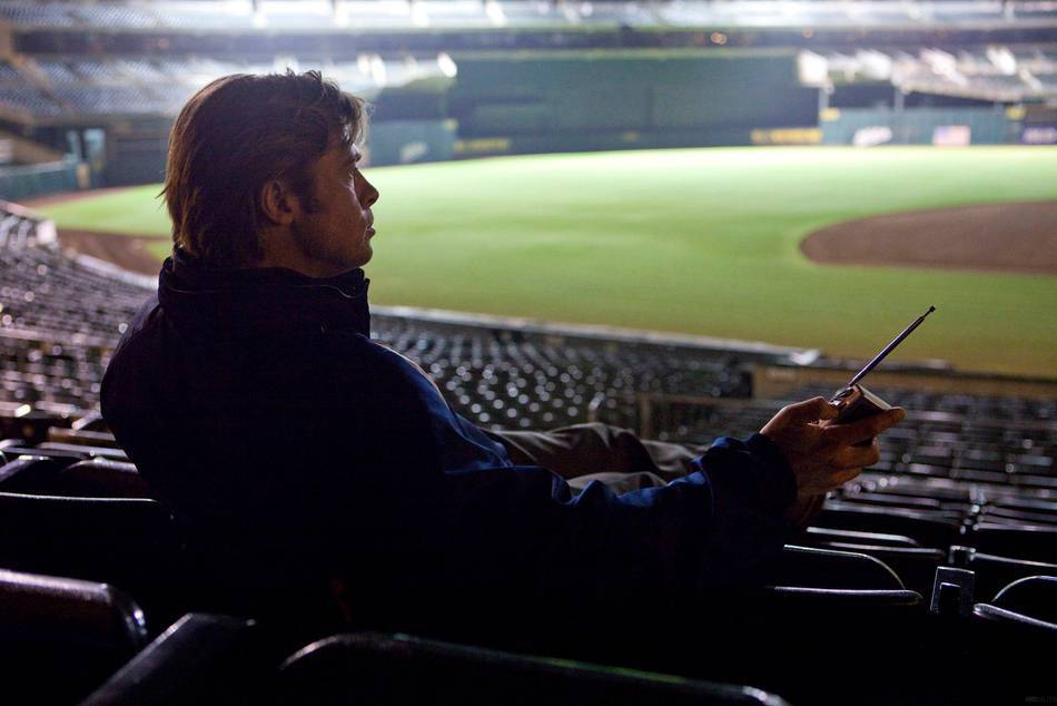 "Lesson learnt from the movie ""Moneyball"" starrIing Brad Pitt, about how to compete against a traditional approach to the game of baseball, in business and life"