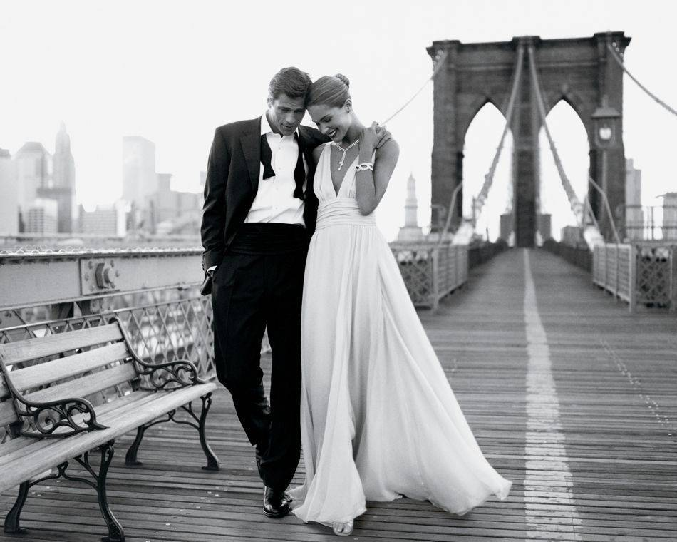 Romantic Outdoor Black Tie Wedding: True Love And A Lifetime Of Brilliance With Tiffany & Co
