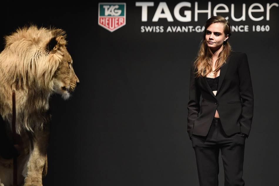 Cara Delevingne is Latest Brand Ambassador for TAG Heuer ...
