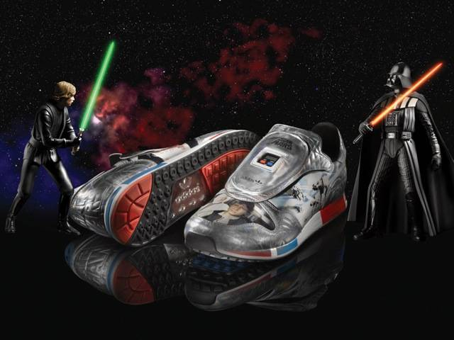 """The duel"" adidas original, part of the Spring/Summer Star Wars Characters Pack"