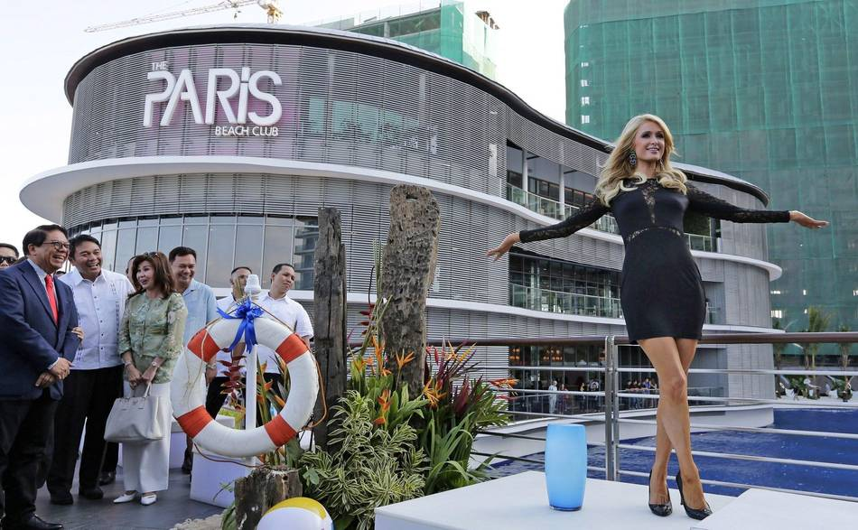 Inaugurates The Paris Beach Club In Manila