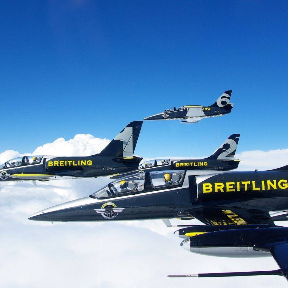 The Breitling Jet Team's stopover in Singapore is part of the team's first-ever five-leg Southeast Asia tour which will see the septet perform aerobatic stunts around the region