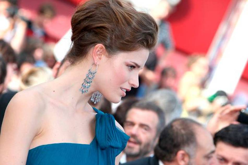 Alessia Piovan in CHOPARD at Cannes