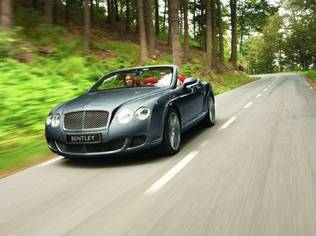 Bentley's most powerful convertible ever