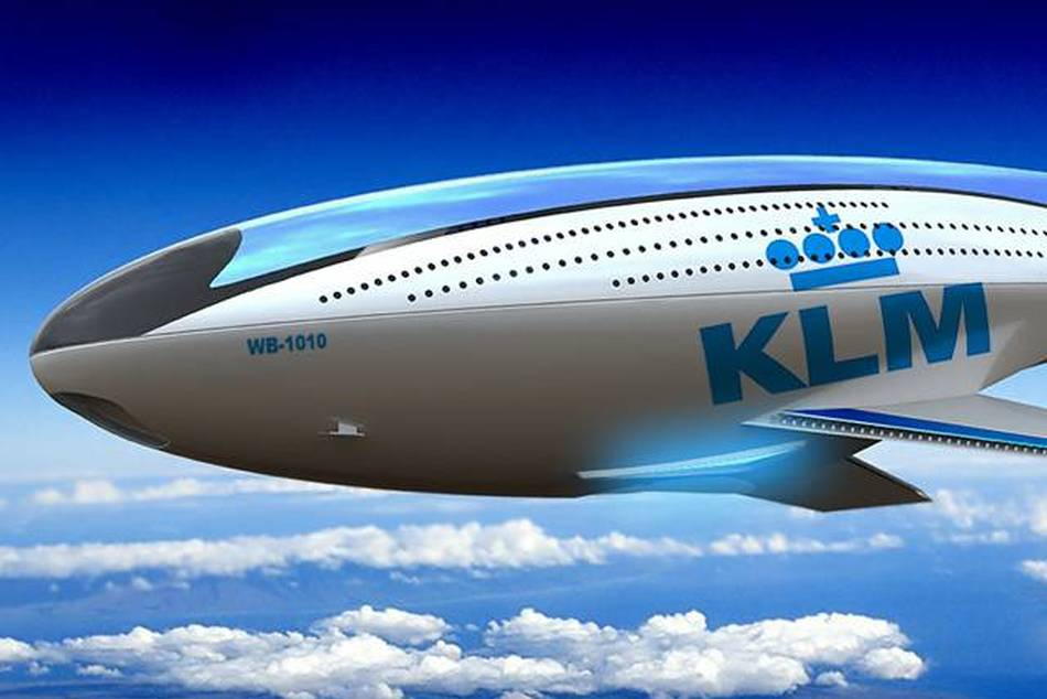 Winning design by Reindy Allendra in the KLM Indonesia aircraft design competition