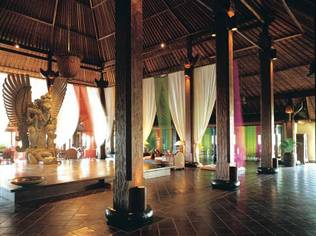 The Lobby at Hotel Tugu Bali