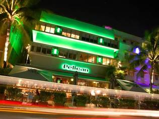 The Pelican is the first hotel created by Italian fashion giant Diesel in Miami Beach