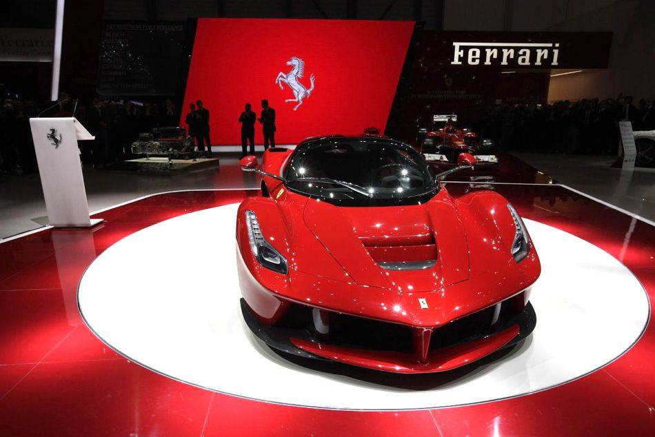 Laferrari Unveiled As The Most Advanced And Fastest