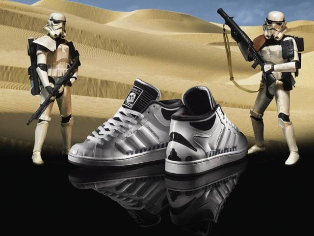 Stormtrooper adidas original, part of the Spring/Summer Star Wars Characters Pack