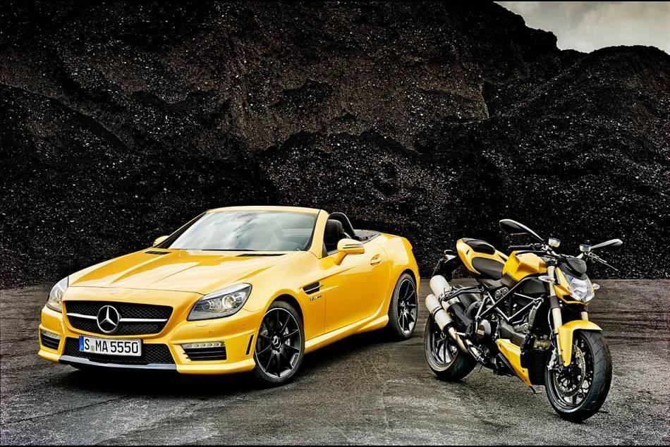 Mercedes Benz X Ducati Slk 55 Amg Streetfighter 848 Senatus