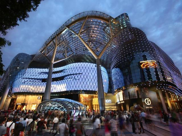 The ION on Orchard - Singapore's landmark mall opens amidst much anticipation.