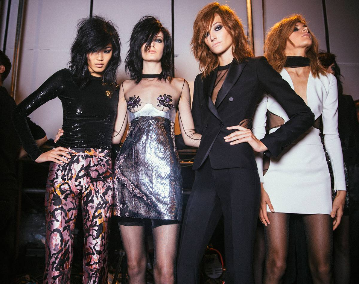 The Beauty of 70s Rock  n  Roll Glamour for TOM FORD Spring Summer 2015    SENATUS b4ef615dab