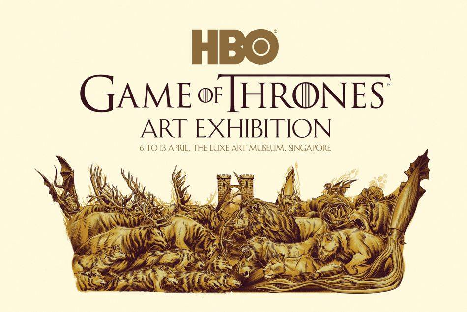 Featuring art pieces by Singapore-based artists And Mondo's world renowned artists inspired by the award-winning HBO original series