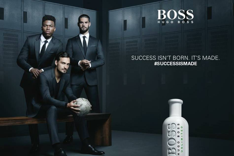 Six of the world's best football players including Daniel Sturridge, Mats Hummels, Isco and James Rodriguez personify the BOSS man's inimitable drive and ambition to define his own achievements