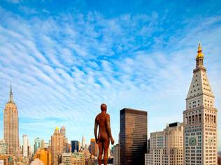 New York City's celebrated skyline will play host to Antony Gormley's Event Horizon