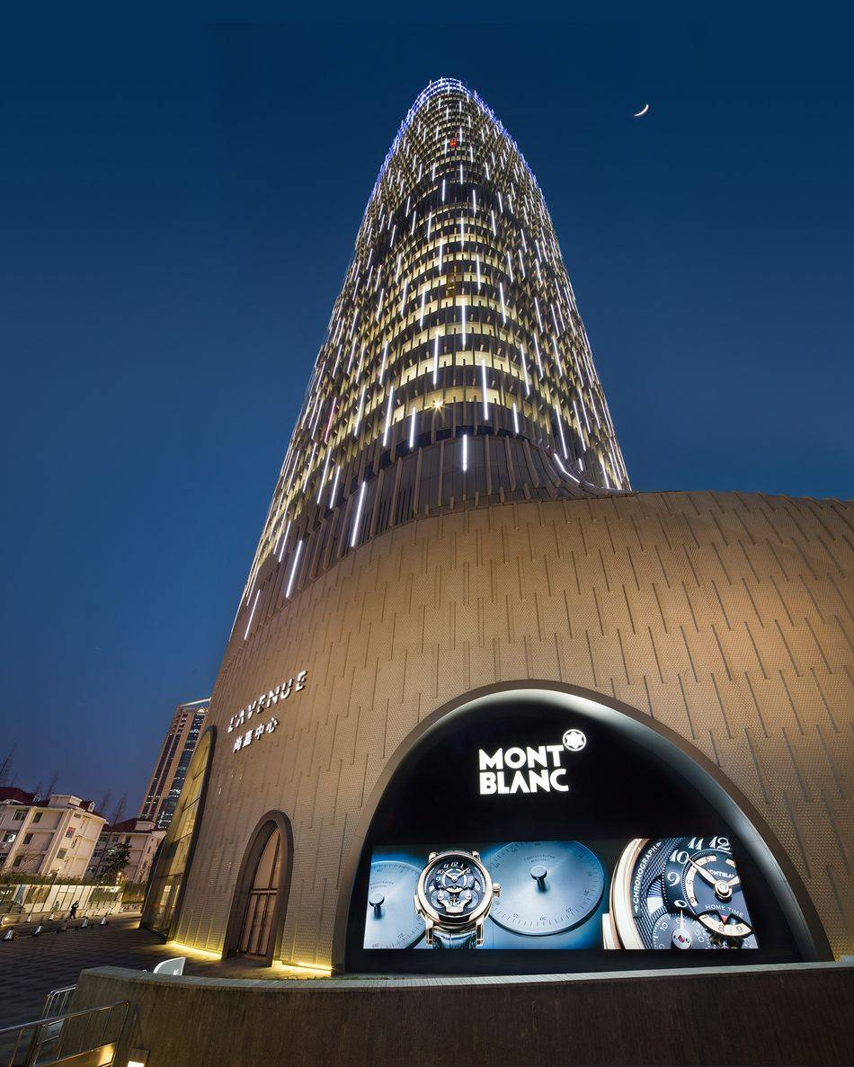montblanc 39 starry art night 39 store opening in shanghai. Black Bedroom Furniture Sets. Home Design Ideas