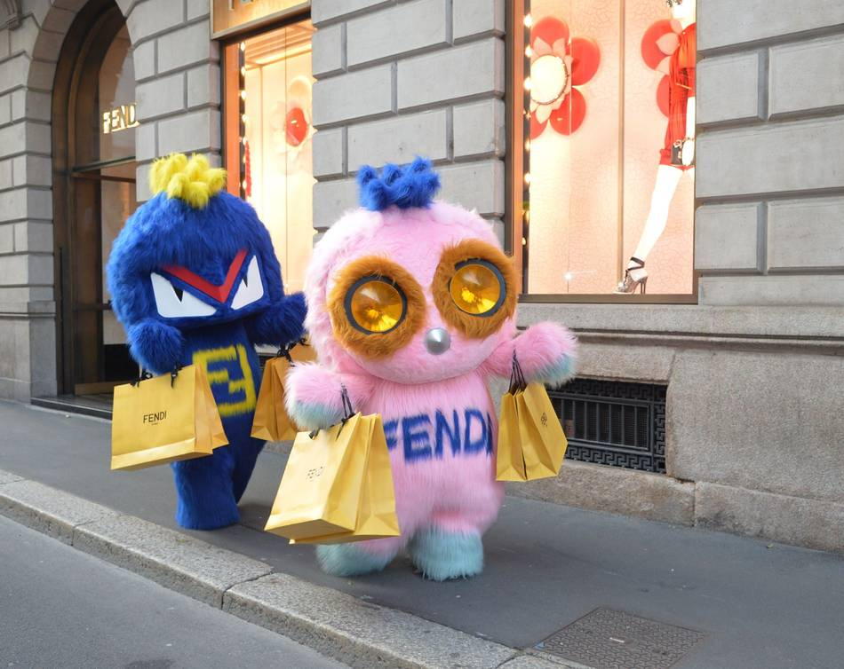 186155007335 FENDIRUMI Makes Special Appearance in Singapore for Re-Opening of FENDI  Store at Marina Bay Sands