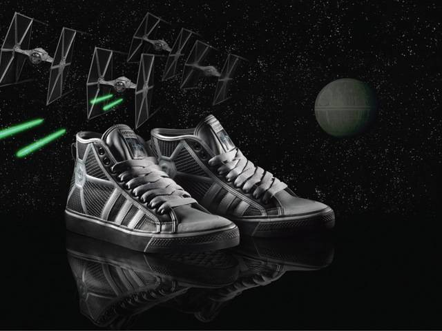 Tie Fighter adidas original, part of the Spring/Summer Star Wars Vehicle Pack