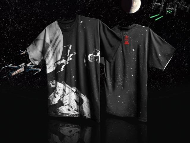 Rebellion Ships T-Shirt, part of the Spring/Summer Star Wars Vehicle Pack